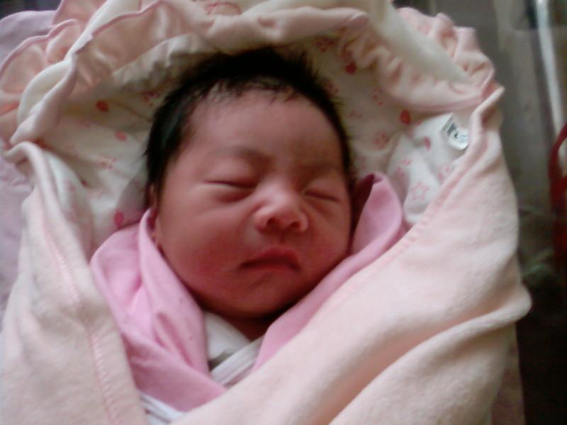我宝宝刚出生 - 樱花物语的照片