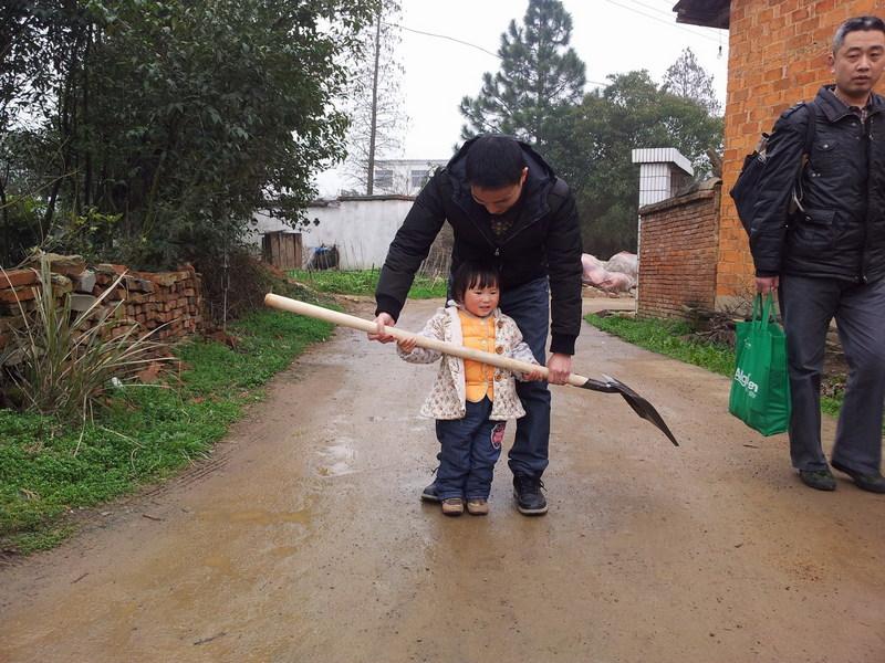 二零一二年三月十七日江西九江第十四次亲子读书会——我和小树一起