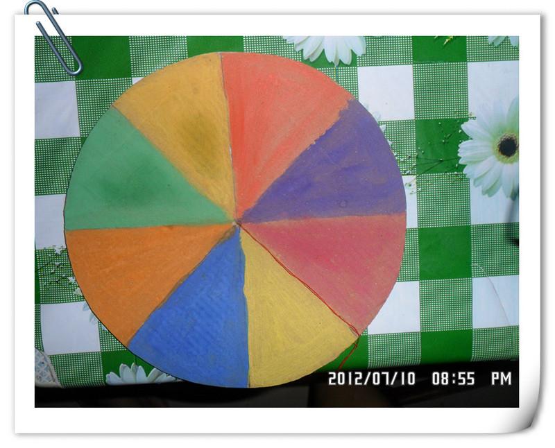 兒童手工飛盤制作方法