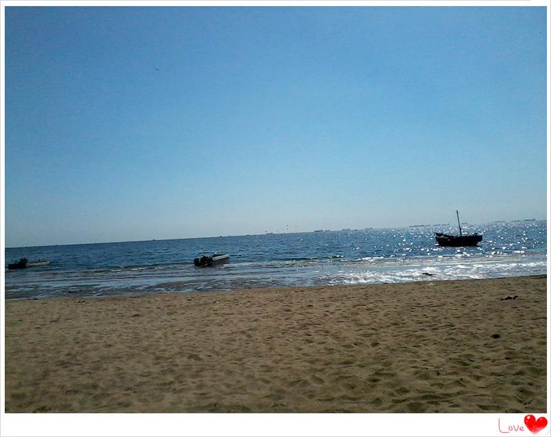 幼儿沙滩风景简笔画