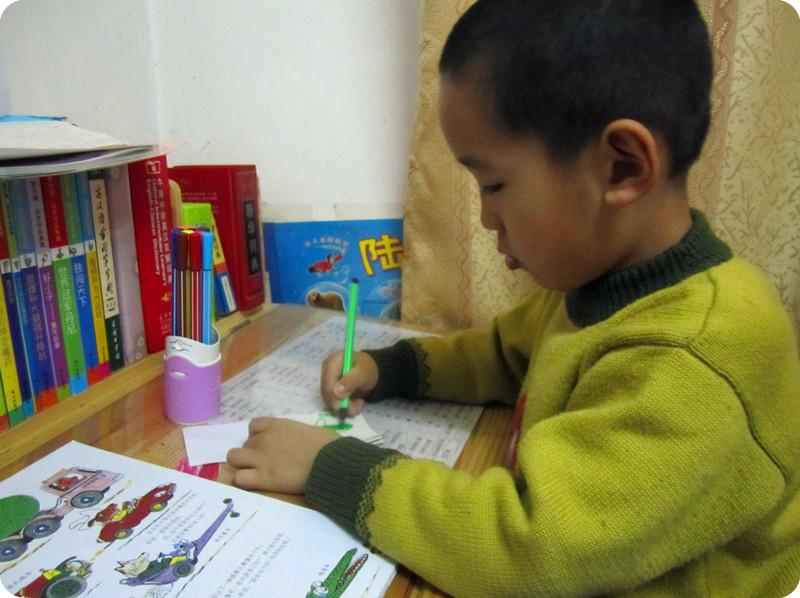 《小娄的食物车》——幼儿园的手工作业