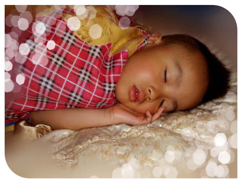 我要睡觉图片可爱