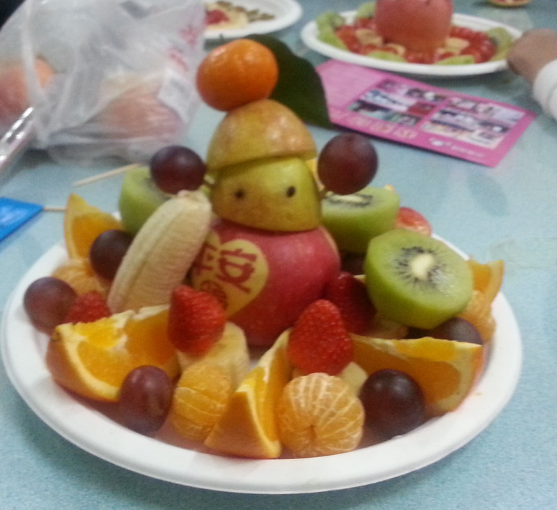 水果拼盘--孤独的小雪人