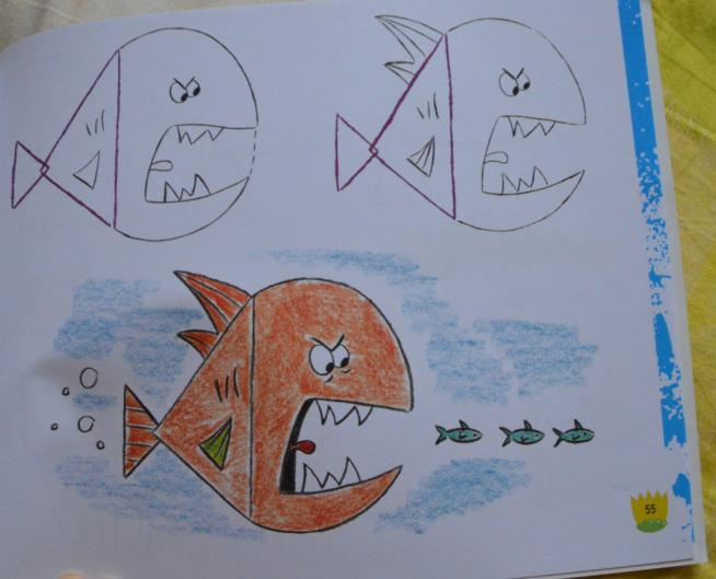 有趣的简笔画 小手画出大世界系列 三角形