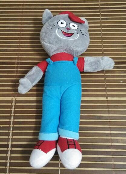 瑞思盖楼玩偶:可爱小猫