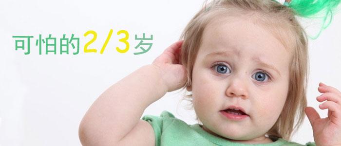 """可怕的两三岁:2~3岁宝宝如何""""对付"""""""