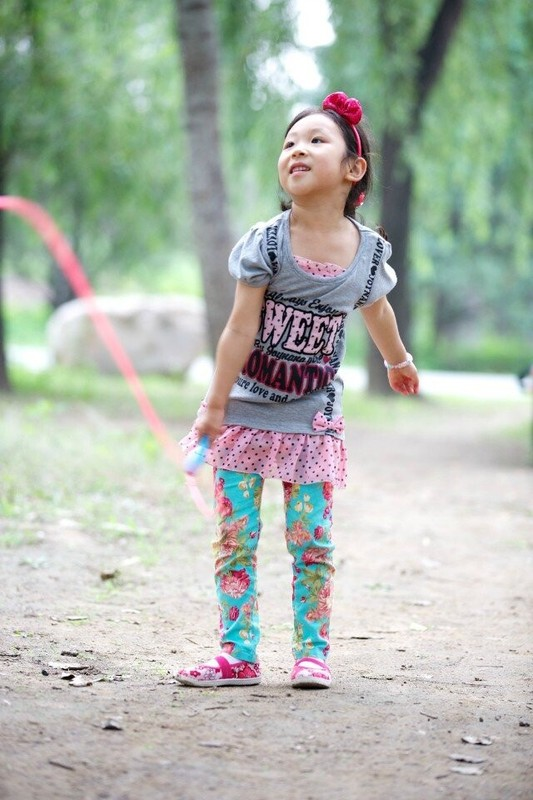 彩虹一样可爱的孩子们