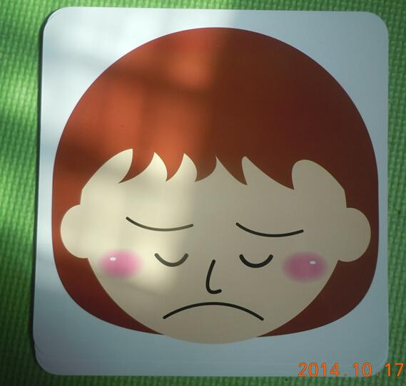 逗趣面具卡——人物表情