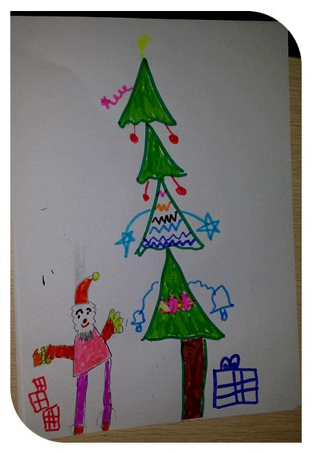 儿童房子树画画大全