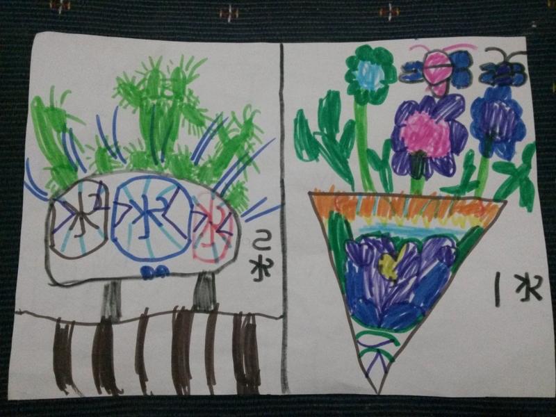 校园文明儿童画