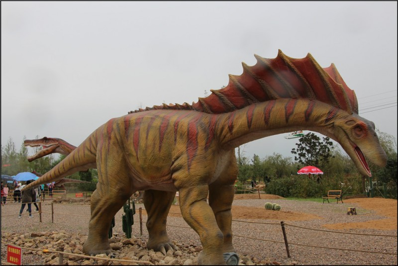 走进神秘的龙园,观恐龙玩游戏体验农耕民族文化