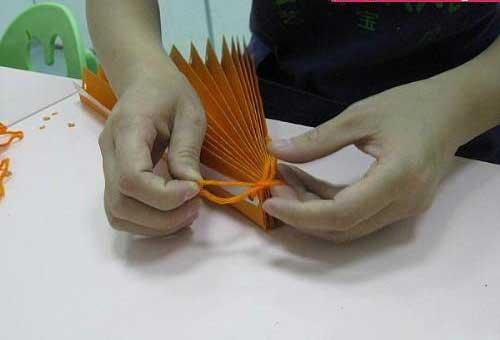 动物扇子的制作方法