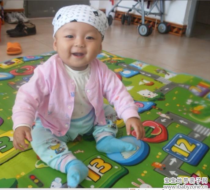 【可爱宝贝秀出来】 少见戴帽子 水影 - 宝宝地带