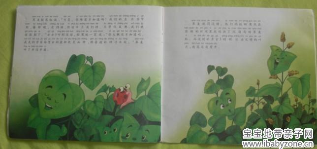 儿童绘本书 封底