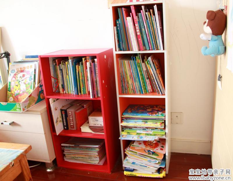 废纸箱diy儿童书架步骤
