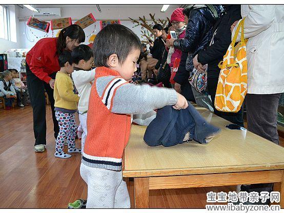 珠珠在幼儿园里快乐的成长