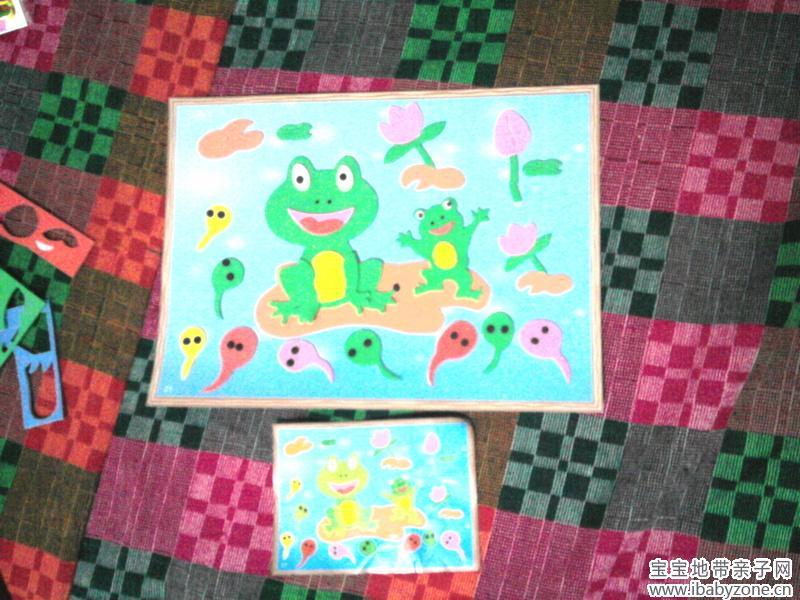 小青蛙找妈妈图片_