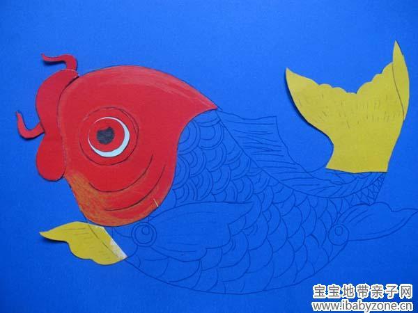 手工立体鲤鱼图片步骤