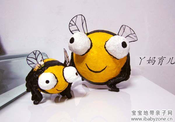 一步一步教你做效果超可爱的卡通立体小蜜蜂/昆虫