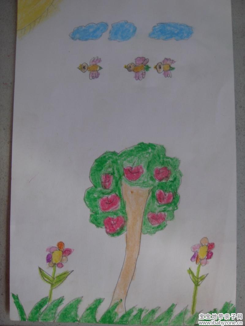 童真图片可爱绘画