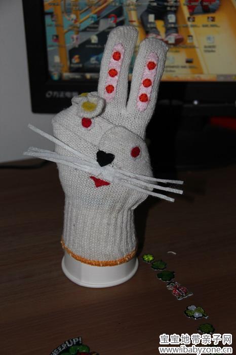 网上查了一下,手套小动物