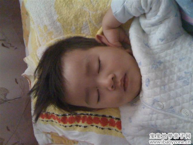 【晒宝宝睡觉萌照】+可爱宝+大耳朵图图