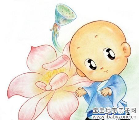 念经小和尚q版头像::小和尚念经打坐漫画::小和尚