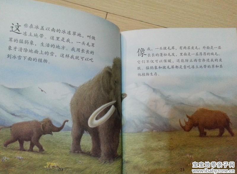 让孩子叹为观止的《史前哺乳动物和鸟类》 宝