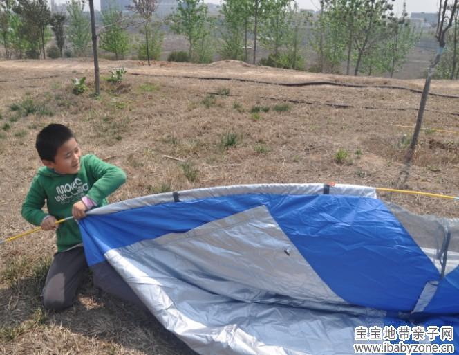 怎么搭帐篷步骤图解