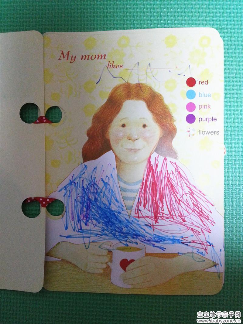 在瑞思英语diy母亲节绘本