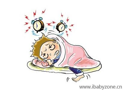 可爱漫画起床图片