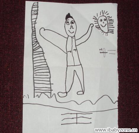 幼儿园作业——运动的自己