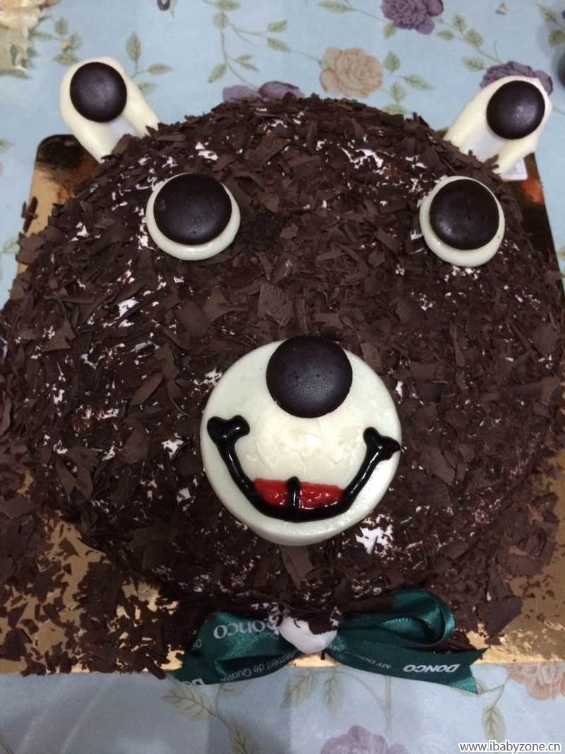 漂亮的小熊蛋糕 - 宝宝地带