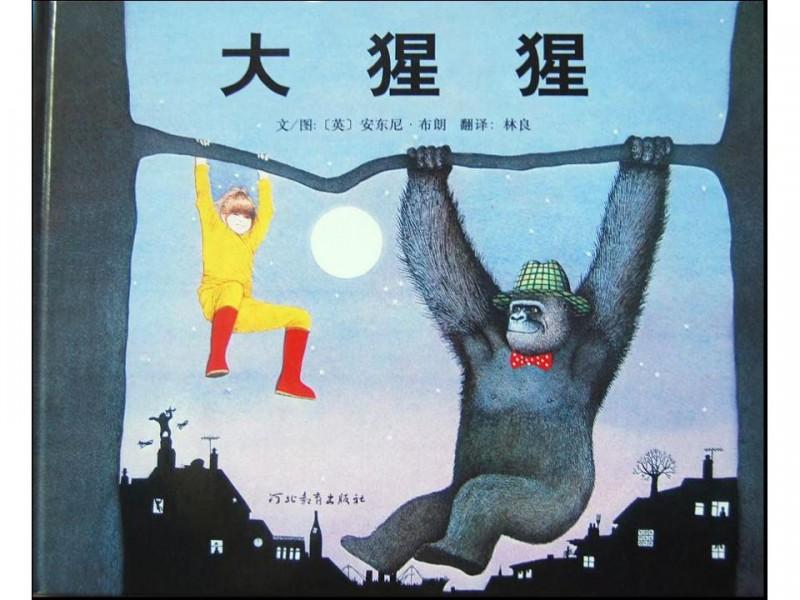 大猩猩封面_儿童绘本 - 宝宝地带