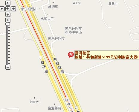 哈尔滨通河地图