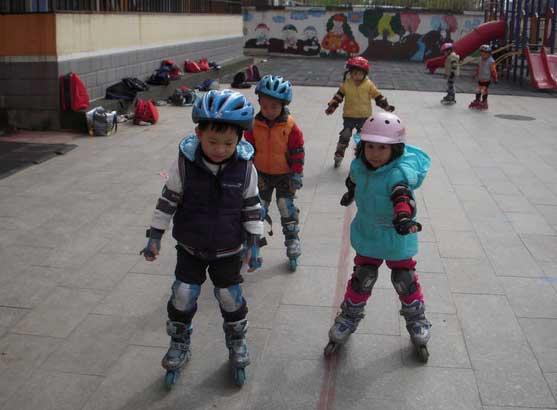 幼儿园 轮滑/轮滑能手