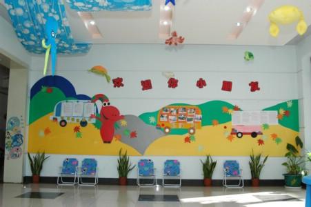 枫林幼儿园活动大厅